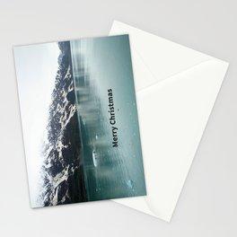 Hubbard Glacier Snowy Mountains Alaska Wilderness Stationery Cards