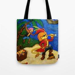 A Pirate's Life  Tote Bag