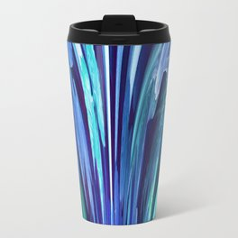 512 - Abstract plant design Travel Mug