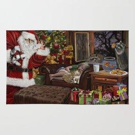Snappy Santa Rug