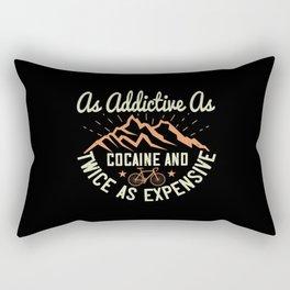 MTB - As Addictive As Cocaine Rectangular Pillow