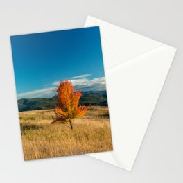 Simple Fall Tree Stationery Cards