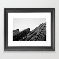Manhattan Buildings Framed Art Print