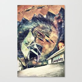 high&mighty Canvas Print