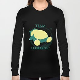 Team Lethargic Long Sleeve T-shirt