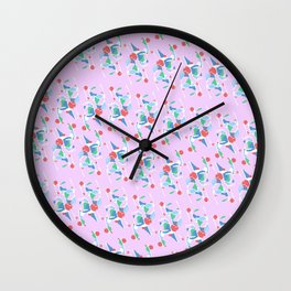 Nail & Hammer  Wall Clock