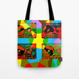 AUDIOTAPES CAMOUFLAGE 2 Tote Bag