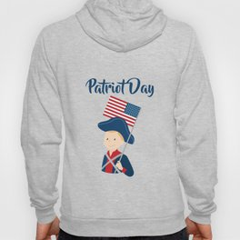 US flag held high for those who died - Patriot Day - September 11 Hoody