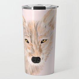 Indian wolf Travel Mug