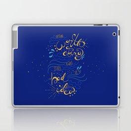 Anything Worth Doing - Nikolai Lantsov Laptop & iPad Skin