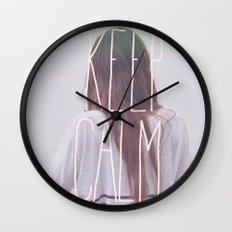 Wander (Keep Calm) Wall Clock
