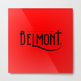 Belmont Hunting Clan II Metal Print