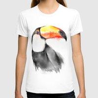 toucan T-shirts featuring Toucan by akaori_art