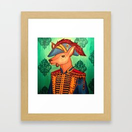 The Commodore Framed Art Print