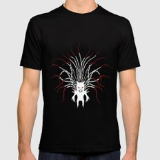 Karma Fairy [LIGHT] MEDIUM Black Mens Fitted Tee