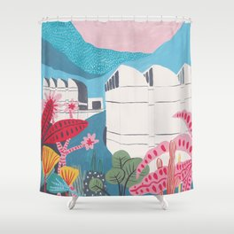 Bauhaus Archiv - Berlin - Walter Gropius Shower Curtain
