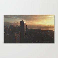 NY Fog Series No.3 Canvas Print