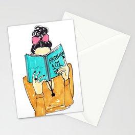 Fashion Print, Fashion 101, Fashion Illustration Print, Pinales Illustrated Stationery Cards