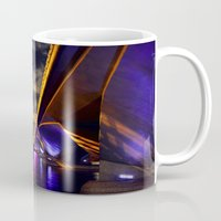 singapore Mugs featuring City Reflections, Singapore by Mark Bagshaw Photography