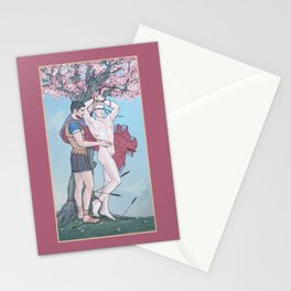 The Liberation of Saint Sebastian Stationery Cards