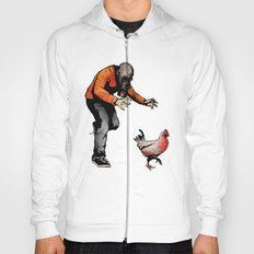 Leroy VS The Zombie Chicken Hoody