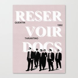 Reservoir Dogs | Quentin Tarantino Canvas Print