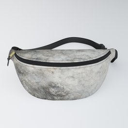 Pockets of Salt on the Rocks by the Sea Fanny Pack