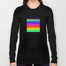 Rainbow and yellow flowers Long Sleeve T-shirt