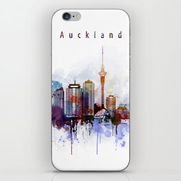 Auckland New Zealand Cityscape iPhone Skin