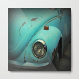 Vintage Volkswagen Bug Metal Print