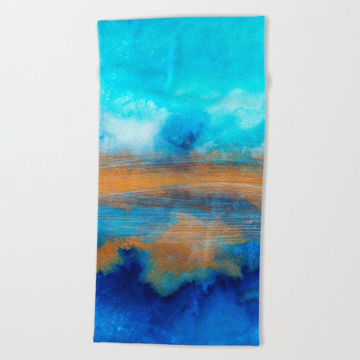 Improvisation 33 Beach Towel
