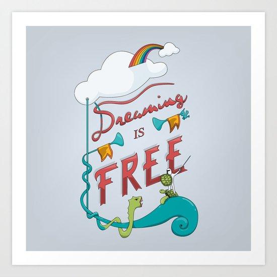 Dreaming is Free by emirsimsek