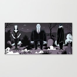 Plan 9 from Outer Space Canvas Print