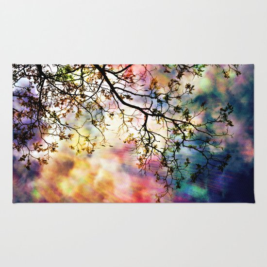 the Tree of Many Colors Rug