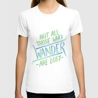 wander T-shirts featuring Wander by IndigoEleven