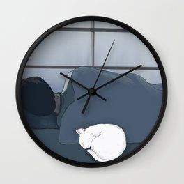 Rainy Day Mood Wall Clock