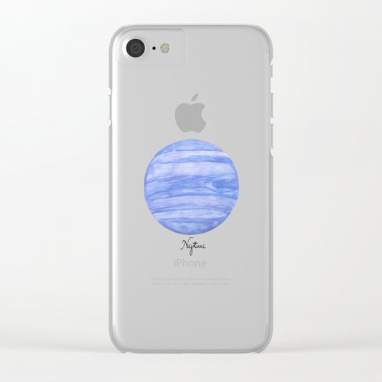 Neptune Clear iPhone Case