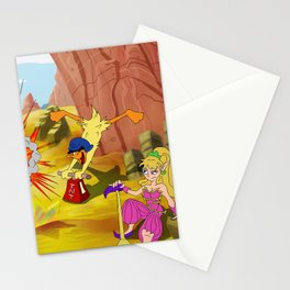 Mana: Captain Duck Strikes Again Stationery Cards