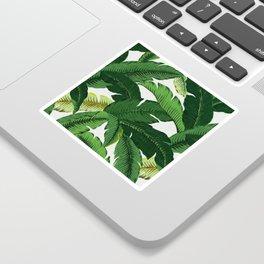 banana leaf palms Sticker