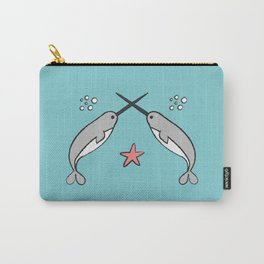 Narwhal knights Carry-All Pouch