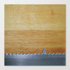 Shark infested breadboard Canvas Print