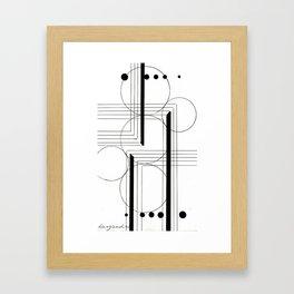 shaky Framed Art Print
