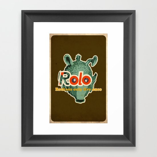 ROLO Framed Art Print