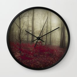 Hidden Place Wall Clock