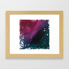 Floral Dreams Abstract Framed Art Print