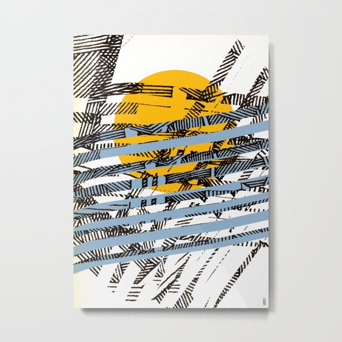 - blue or not - Metal Print