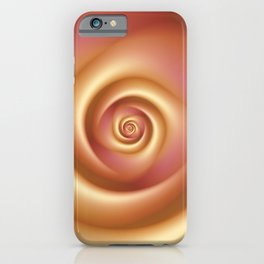 Blushing Rose iPhone Case