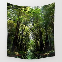 Redwood Reflection Wall Tapestry