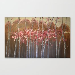 Blooming With Love Canvas Print