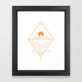 osiris merch Framed Art Print